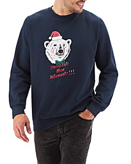 Xmas Polar Bear Sweatshirt Long