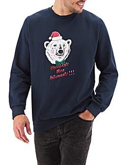 Xmas Polar Bear Sweatshirt Long