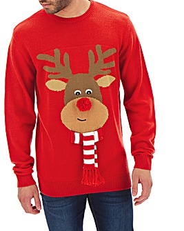 Reindeer Matching Family Jumper Long