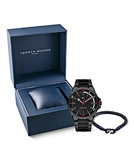 Tommy Hilfiger Watch & Bracelet Gift Set
