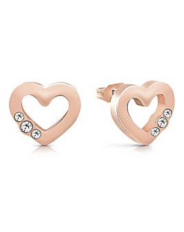 Guess Unchain My Heart Earrings