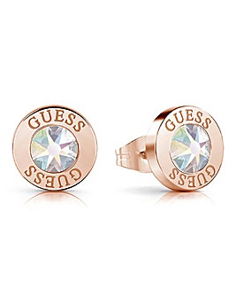 Guess Shiny Crystal Earrings