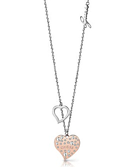 Guess Heart Warming Necklace