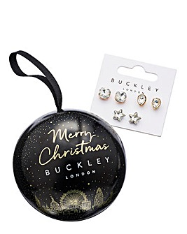 Buckley London Earring Trio Set Bauble