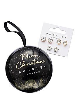 Buckley London Earring Trio Set Bauble