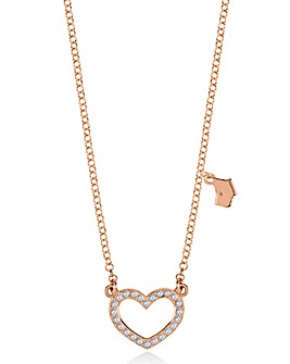 Radley Heart Scotty Logo Pendant