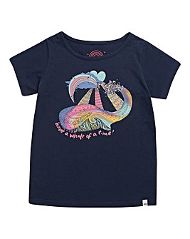 Animal Girls Indigo Whaley T-shirt