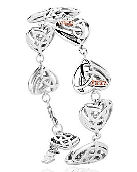 Clogau Silver & Gold Eternal Bracelet