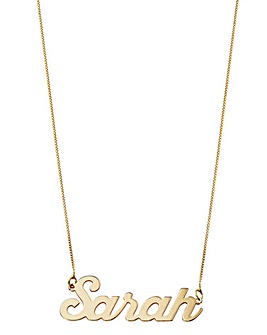 9 Carat Gold Name Necklace