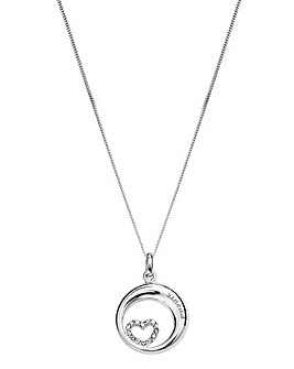 Sterling Silver Personalised Pendant