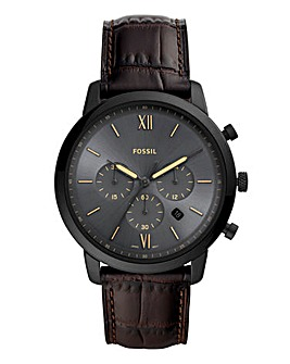 Fossil Mens Chrono Strap Watch