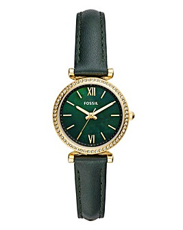 Fossil Ladies Green Strap Watch