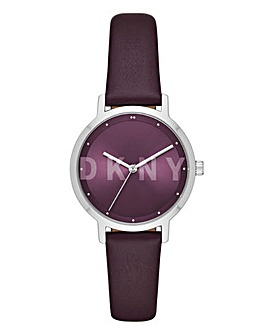 DKNY The Modernist Purple Strap Watch