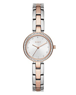 DKNY Two-tone Ladies Watch