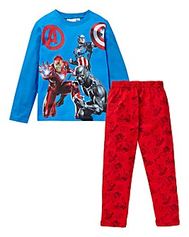 Captain America Boys L/S Pyjamas