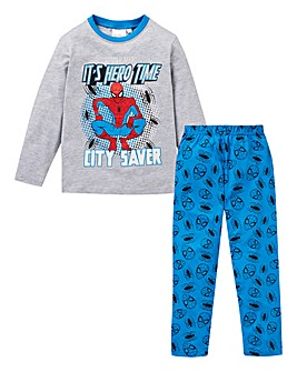 Spiderman Boys Long Sleeve Pyjamas