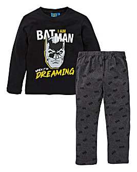 Batman Boys Long Sleeve Pyjamas