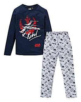 Star Wars Boys Long Sleeve Pyjamas