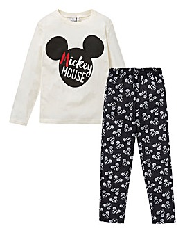 Mickey Mouse Boys Long Sleeve Pyjamas