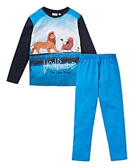 Lion King Boys Long Sleeve Pyjamas