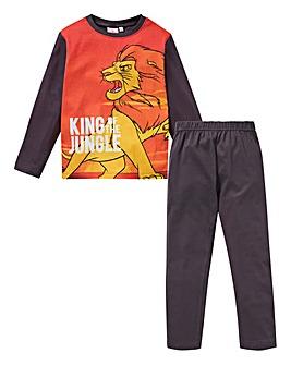 Lion King Boys Long Sleeve Pyjamas