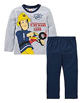 Fireman Sam Boys Long Sleeve Pyjamas
