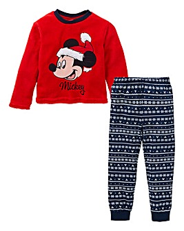 Mickey Mouse Christmas Fleece Pyjamas