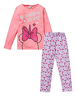 Minnie Mouse Girls Unicorn Pyjamas