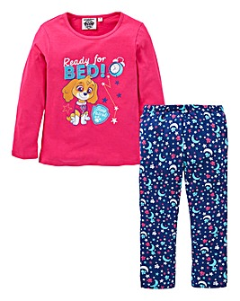Paw Patrol Girls Long Sleeve Pyjamas
