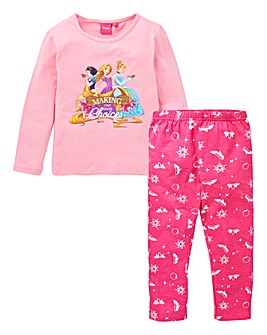 Disney Princess Girls L/S Pyjamas
