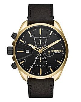 Diesel Gents Black Strap Watch