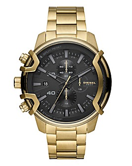 Diesel Gold tone Bracelet Watch