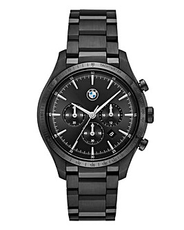 BMW Gents Black Chrono Watch