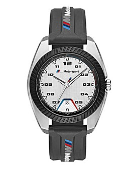 BMW Gents Black Motorsport Watch