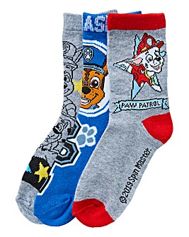 Paw Patrol Boys Pack of Three Socks