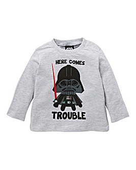 Star Wars Baby Boy Long Sleeve T-Shirt