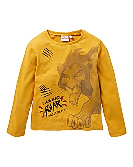 Lion King Boys Long Sleeve T-Shirt
