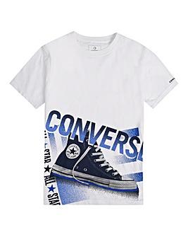 Converse Boys Halftone Chuck Tee