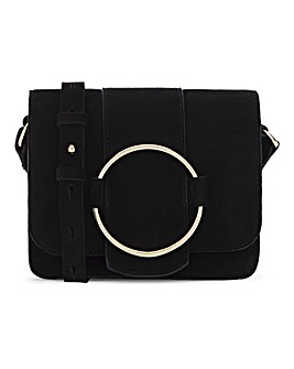 Oasis Ring Detail Shoulder Bag