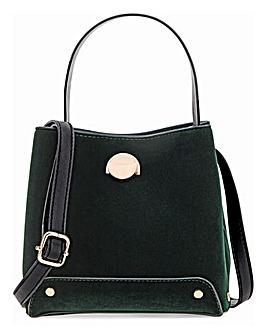 Oasis Velvet Tote Bag