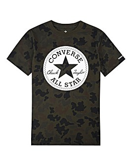 Converse Boys Camo Chuck Patch Tee