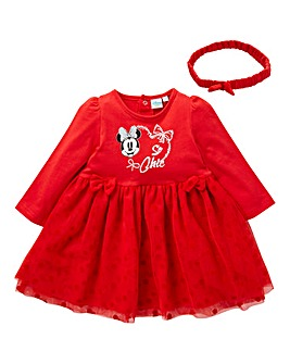 Minnie Mouse Baby Girl Dress Set