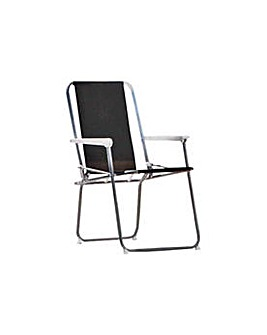 Folding Picnic Chair - Black.