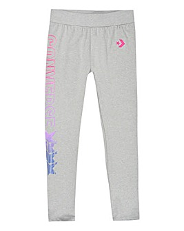 Converse Girls Grey Gradient Leggings