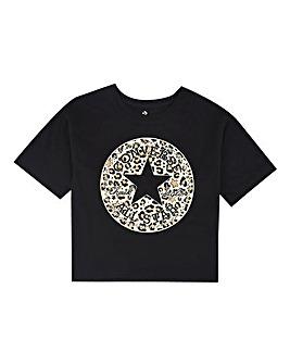 Converse Girls Leopard Chuck T-Shirt