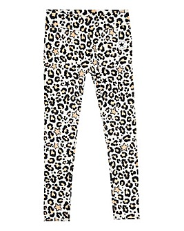 Converse Girls Leopard Print Leggings