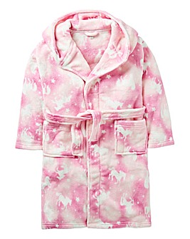 KD Girl Pink Unicorn Dressing Gown