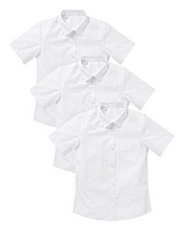 KD Older Girl 3 Pack S/S School Shirts S