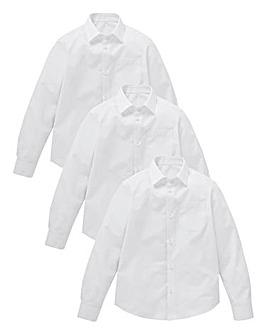 KD Older Boy 3 Pack L/S School Shirts S