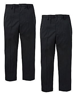 KD Boys Pack of Two Trousers Slim Fit
